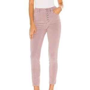 We The Free Lilac Corduroy Jeans Pants